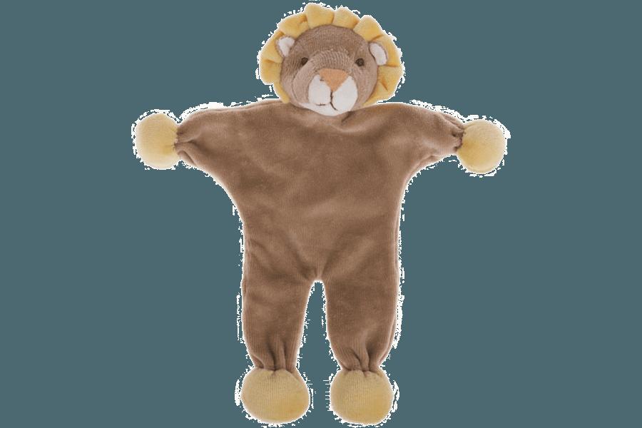 Süsser Löwe der wie Papier raschelt. Ein herrliches Spielzeug.
