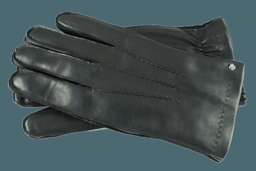 Bequeme Passform durch Gummizug am Handgelenk sorgt für wohlige Wärme