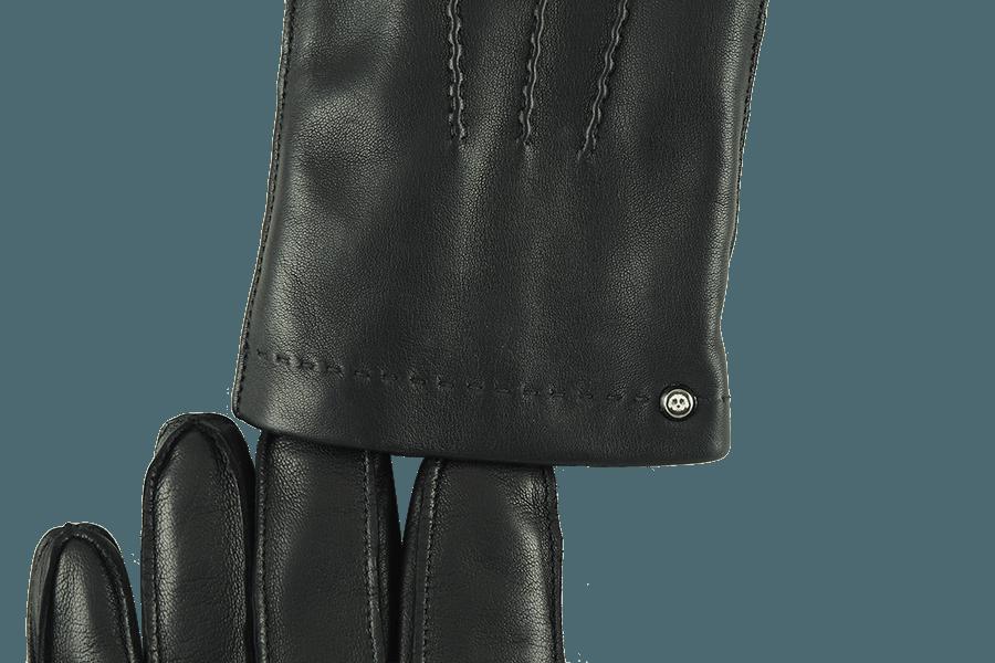 Kunstvolle Ziernaht und versilberte original Cavachon-Niete