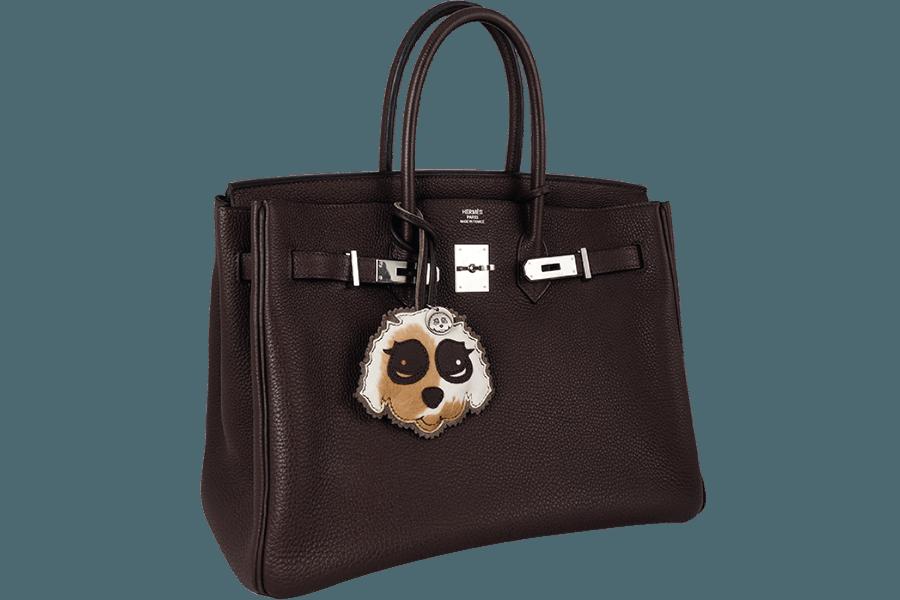 Charm Bag Anhänger Silver